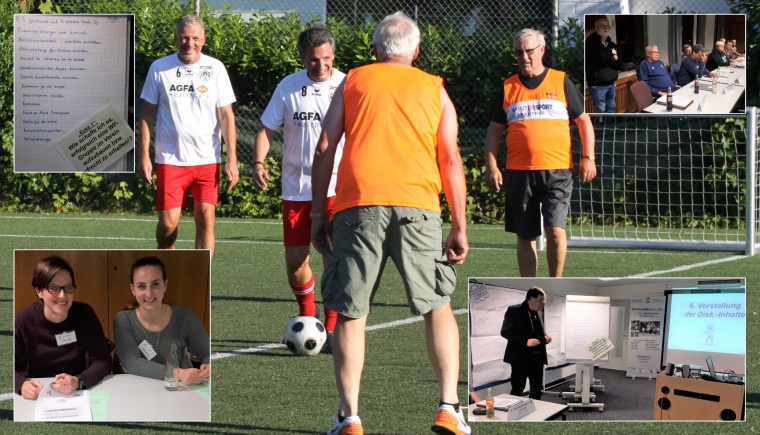Großes Interesse am ersten Walking Football-Workshop in Wedau